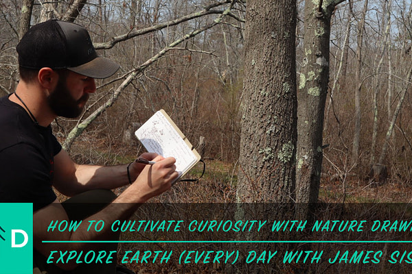 Earth Day Nature Drawing