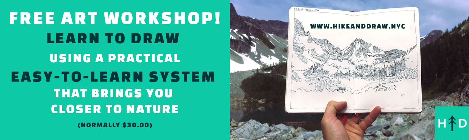 Hike And Draw Free Workshop